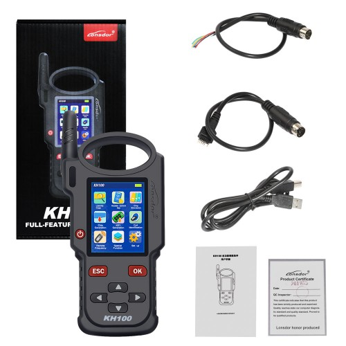 (Sep. Sale) 2020 100% Original Lonsdor KH100 Hand-Held Key Programmer No Need Token with Free Shipping (US Ship No Tax)