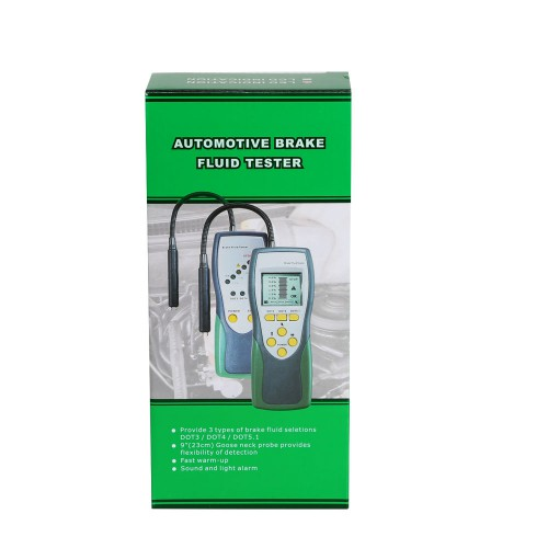 Duoyi DY23 Automotive Brake Fluid Tester Digital Brake Fluid Inspection (US Ship No Tax)