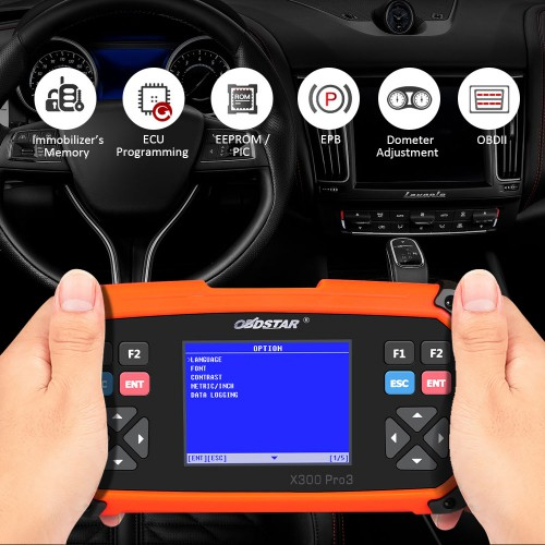 OBDSTAR X300 PRO3 X-300 Key Master with Immobiliser + Odometer +EEPROM+OBDII+Toyota G & H Chip All Keys Lost (US/UK Ship)