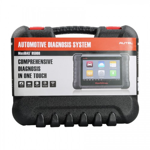 100% Original AUTEL MaxiDAS DS808 KIT Tablet Diagnostic Tool Full Set Support Online Update Better Than Autel DS708