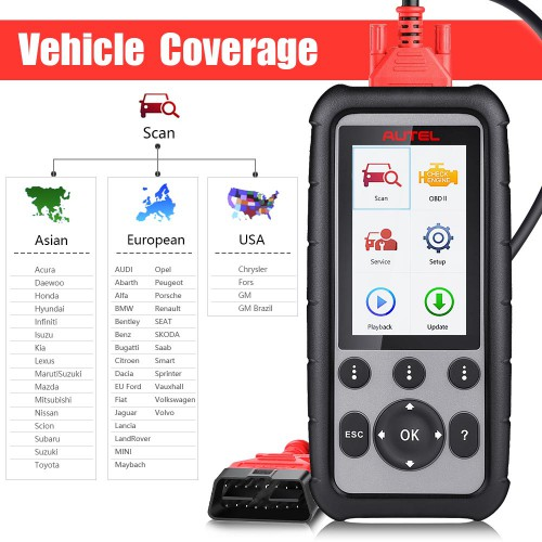 100% Original Autel MaxiDiag MD806 Pro Full System Diagnostic Tool As Same As Autel MD808 Pro (US/UK Ship No Tax)