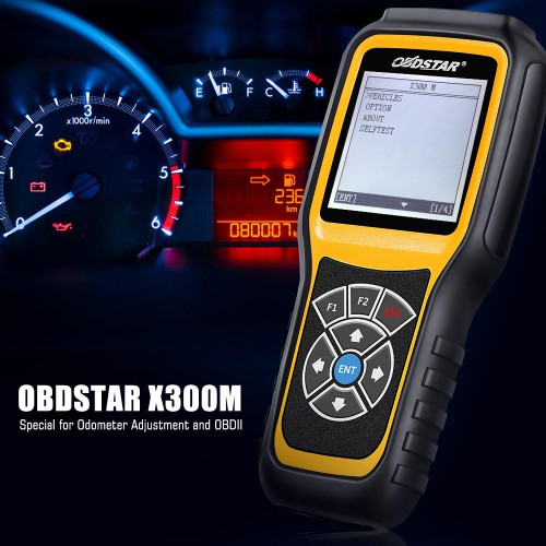 (US/UK Ship No Tax) OBDSTAR X300M OBDII Odometer Correction Tool Benz MQB Fiat Volvo Model Lifetime Free Update