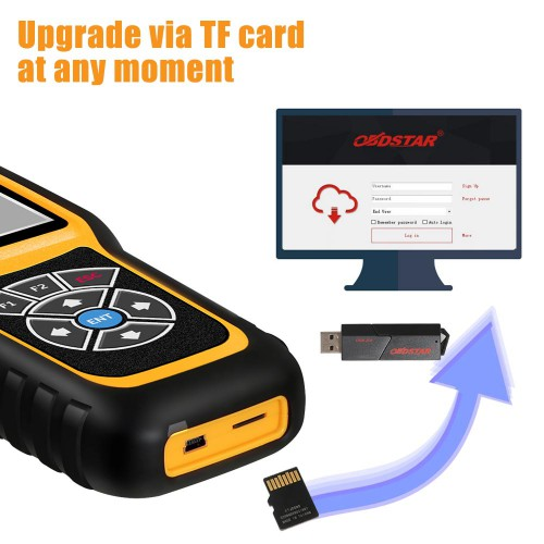 (Flash Sale) OBDSTAR X300M OBDII Odometer Correction Tool Benz MQB Fiat Volvo Model New Update (US/UK/AU Ship No Tax)