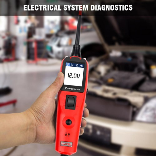Original Autel PowerScan PS100 Electrical System Diagnostic Tool Car Auto Circuit Tester (US/UK Ship No Tax)
