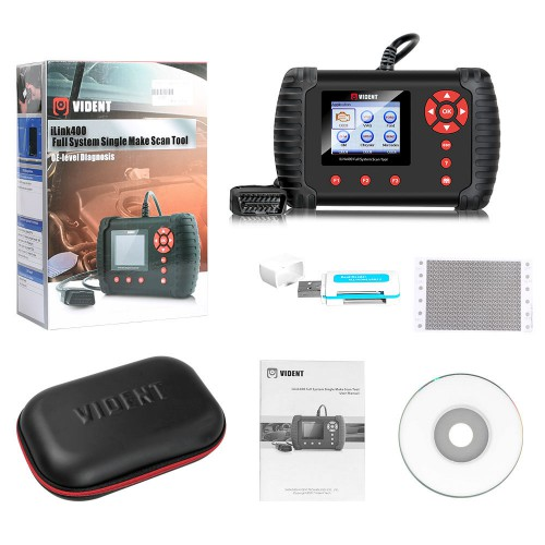 (US Ship No Tax) Vident iLink400 VW AUDI SKODA SEAT Diagnostic and Coding Scan Tool Full System