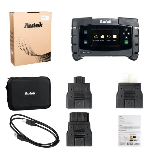 (US Ship No Tax) Original Autek IKey820 OBD2 Car Key Programmer No Token Limitation All Cars via OBD2 GM Ford Chrysler jeep dodge Mitsubishi to 2019