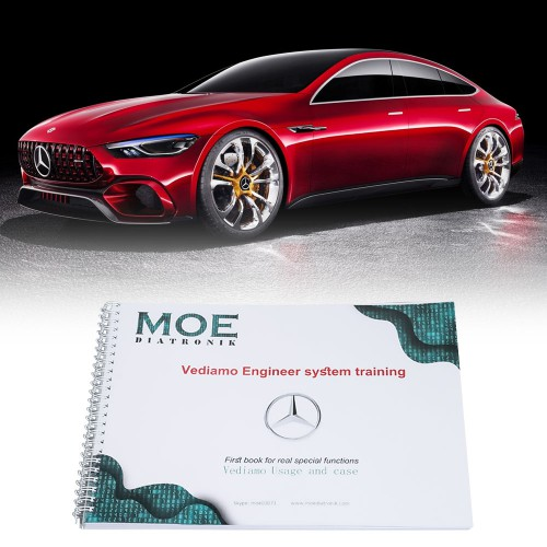 Buy Moe Diatronic Vediamo Engineer System Training Book Vediamo Usage and Case get 1 Free Book for XENTRY+DAS