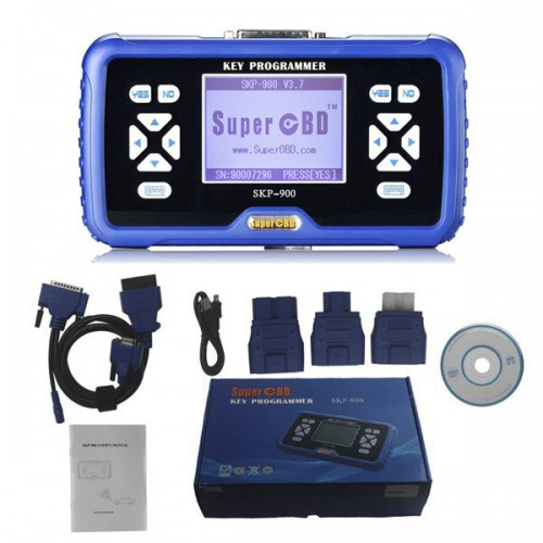 V5.0 SuperOBD SKP-900 SKP900 Hand-Held OBD2 Auto Key Programmer No Tokens Limitation Support Almost All Cars