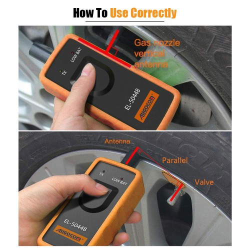 AUGOCOM EL-50448 Auto Tire Pressure Monitor Sensor TPMS Relearn Tool for GM Buick Series Vehicle