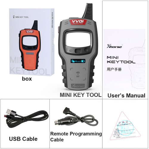 (4% Off $123.84) (Ship from UK/US) Xhorse VVDI Mini Key Tool Global Version Updated Remote Renew Function