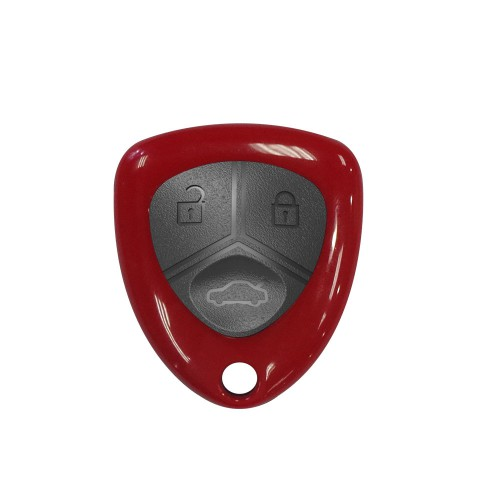XHORSE XKFE02EN Wired Universal Remote Key Ferrari Style Flip 3 Buttons for VVDI Key Tool English Version 5pcs/lot