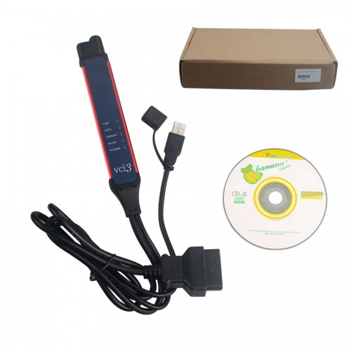 V2.43.01 Scania VCI3 VCI-3 Scanner Wifi Truck Diagnostic Tool for Scania Support All Scania (UK Ship No Tax)