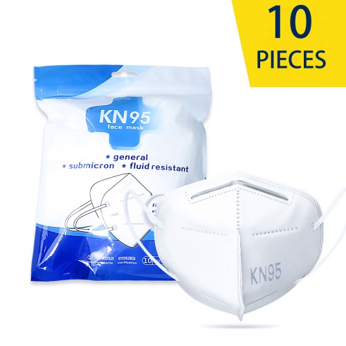 KN95 disposable protective mask 4 layers 10pcs/lot