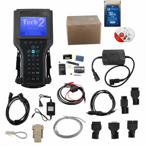 2021 Top Vetronix GM Tech 2 Clone Diagnostic Scanner For (GM/SAAB/OPEL/SUZUKI/ISUZU) with CANDI and tis2000 usbkey Saab Tech2 Full Packing
