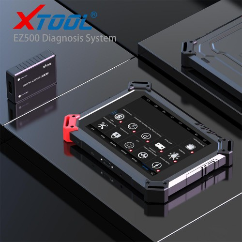(US/UK Ship No Tax) Original XTOOL EZ500 Full-System Diagnosis for Gasoline Vehicles with Special Function 2 Years Free Update