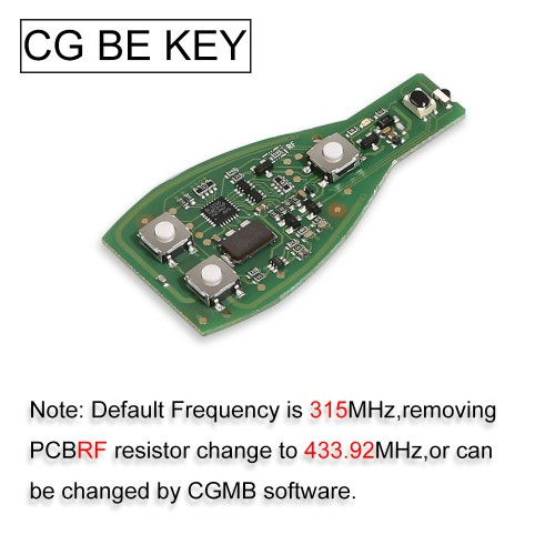 CGDI MB CG BE Key for All Benz FBS3 Immo Reusable