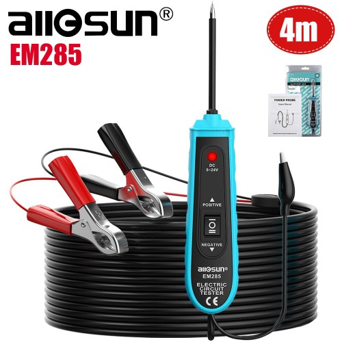 (US/UK Ship No Tax) All-Sun EM285 Power Probe Car Electric Circuit Tester Automotive Tools 6-24V DC