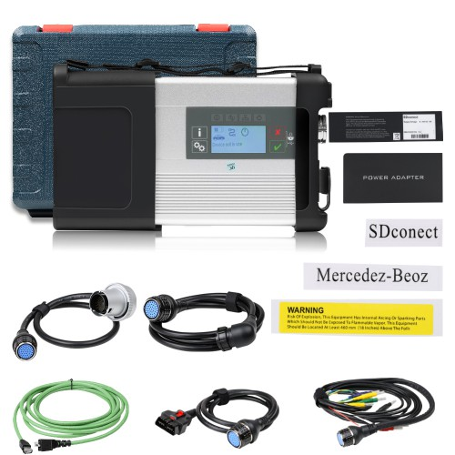 Wifi MB SD C5 BENZ C5 DOIP Star Diagnostic Tool for Cars and Trucks