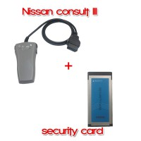 Consult III Plus Security Card for Immobilizer for Nissan