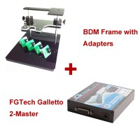 FGTech Galletto 2-Master Plus BDM Frame with Adapters