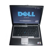 Dell D630 Core2 Duo 1,8GHz, 4GB Memory WIFI, DVDRW Second Hand Laptop for MB Star