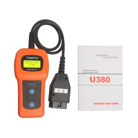 U380 OBDII OBD2 EOBD Engine Scanner Trouble Code Reader Scanner