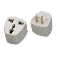 (US Ship No Tax) Universal Euro EU to US USA Travel Charger Adapter Plug Converter