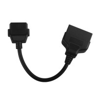 22pin to 16pin OBD1 to OBD2 Connect Cable for TOYOTA Free Shipping