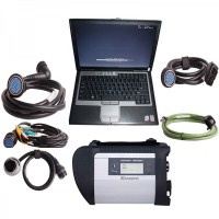 DOIP MB SD C4 Star Diagnosis with 2021.3V 256GB SSD Plus Dell D630 Laptop 4GB Memory Software Installed Ready to Use