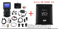 Plastic Case Diagnostic Scanner for GM TECH2 with Candi+32 MB Card+TIS2000 with USBKEY + Extra GM TECH2 VCI module