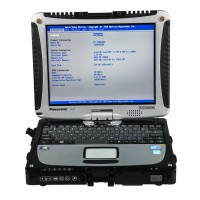 Second Hand Original Panasonic CF19 I5 4GB Laptop for Porsche Piwis Tester II and MB SD C4/C5 (No HDD included)
