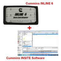 Cummins INLINE 6 Data Link Adapter plus 8.2.0.184 Cummins INSITE Software Pro Version with 500 times Limitation
