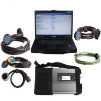 V2021.3 MB SD C5 Star Diagnosis Plus Panasonic CF52 Laptop Software Installed Ready to Use