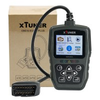 Multi-language XTUNER AM1011 OBDII/EOBD Plus Code Reader Buy SC395 Instead