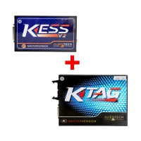 Newest Kess V2 V5.017 Online Version Plus V2.25 Firmware V7.020 KTAG ECU Programming Tool