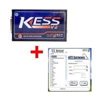 Newest Kess V2 V5.017 Online Version Plus DTC Remover Ver:1.8.5 Software