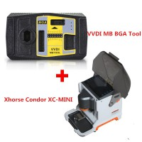 Xhorse iKeycutter Condor XC-MINI Master plus V4.9.0 VVDI MB BGA Tool Benz Key Programmer Get Free One Token Everyday