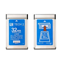 GM Tech 2 32MB Card For (GM,OPEL,SAAB,ISUZU,Holden,SUZUKI) Pcmcia Memory Card GM Tech2 Accessory