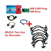 [7% OFF $687.27] MB CGDI Prog MB Benz Car Key Programmer and EIS/ELV Test Line for Mercedes ELV repair