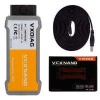 VXDIAG VCX NANO For Volvo Auto Diagnostic Tool Same Function as Volvo VIDA Dice 2014D Scanner