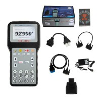 (US Ship No Tax) V50.01 CK-200 CK200 Auto Key Programmer No Tokens Limitation Add more car models Than CK100
