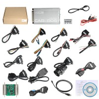 V10.93 VSCAN Carprog with all Software activated and all 21 items Adapters (Support US/AU Local Shipping)