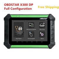 Original OBDSTAR X300 DP X-300 DP PAD Tablet Key Master Full Configuration Support Toyota G & H Chip All Keys Lost and BMW FEM/BDC Key