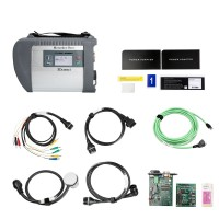 New Arrival MB SD C4 Connect Compact 4 Star Diagnosis V2019.5 with Software