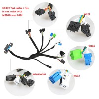(UK Ship No Tax) Benz EIS ELV Test cables 5-in-1 Works Together with VVDI MB TOOL/ CGDI Prog MB