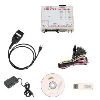 KTM FLASH KTMFLASH Car ECU Programmer Supports V-A-G DQ200 DQ250 Infineon Bosch Support 271 MSV80 MSV90 with Dialink J2534 cable