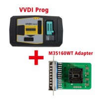 Original V4.8.4 Xhorse VVDI PROG Programmer with M35160WT Adapter Free Shipping by DHL