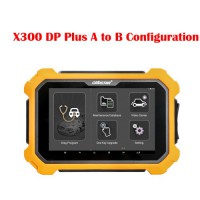 OBDSTAR X300 DP PLUS A Configuration Upgrade to B Configuration