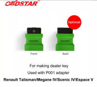 OBDSTAR P001 Adapter Connector for Renault Talisman/Megane IV/Scenic IV/Espace V for Making Dealer Key