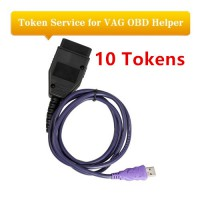 10 Tokens for VAG OBD Helper Read 4th IMMO EEPROM via OBD